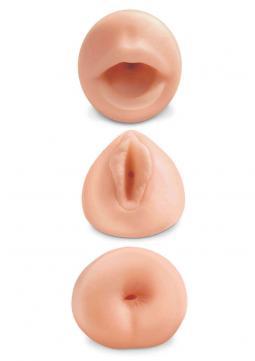 Kit Masturbatori Realistici All 3 Holes Bocca Vagina Ano