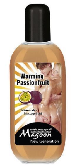 Olii ai frutti della passione per massaggi riscaldanti