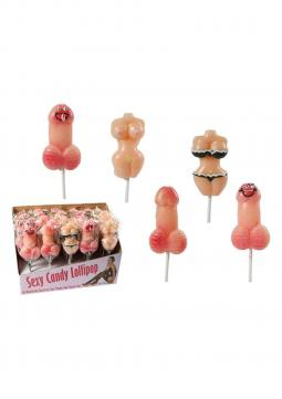 Lecca Lecca CANDY LOLLIPOP 5 ASS DISPLAY