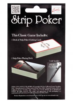 Carta da gioco STRIP POKER GAMES