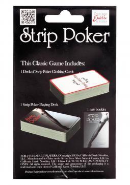 Carta da gioco STRIP POKER GAMES