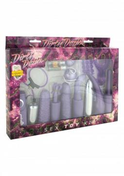 Dirty Dozen Sex Toy Kit Purple