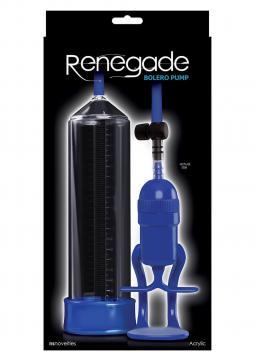 Pompa Sviluppa Pene RENEGADE PUMP BOLERO BLUE
