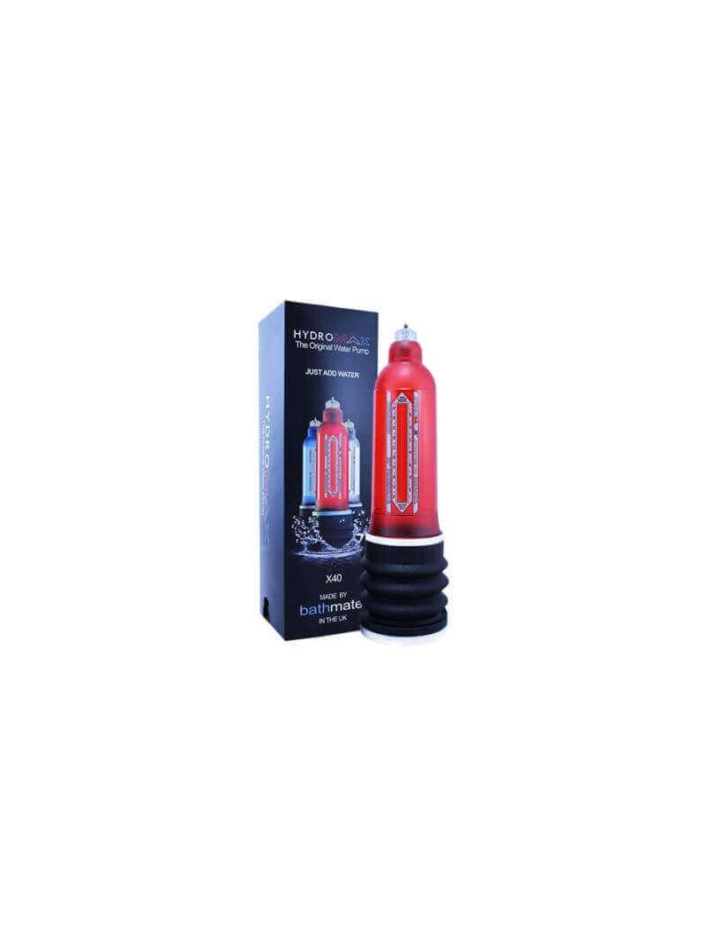 POMPA 'BATHMATE HYDROMAX X40' - BRILLIANT RED