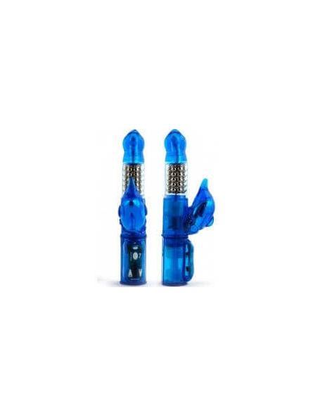 VIBRATORE RABBIT ECLIPSE ULTRA VIBRATOR BLUE