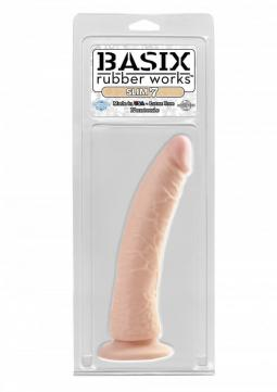 Fallo Realistico Slim 7 Inch with Suction Cup Basix