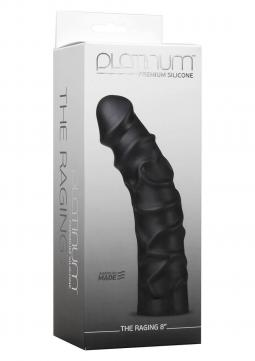 Fallo Realistico The Raging 8-inch Dildo Black